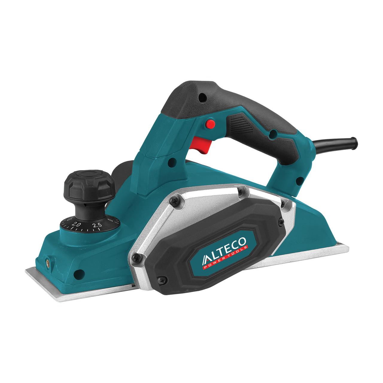 Рубанок электрический ALTECO PL 650 650Вт 17000об/мин нож 82мм сред до 2.5мм