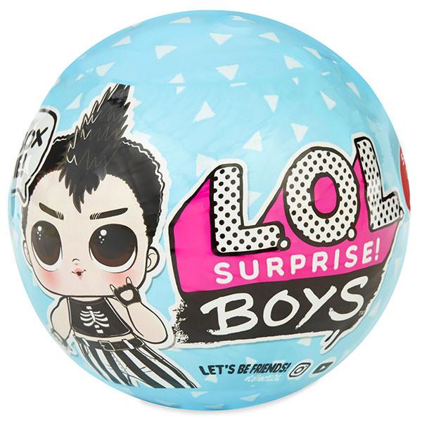 LOL Surprise - Кукла Сюрприз в шарике, ЛОЛ Мальчики Boys (Оригинал)