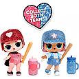 LOL Surprise - Блестящая Кукла ЛОЛ Сюрприз, Звезды Бейсбола All Star B.B.s (Оригинал), фото 4