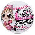 LOL Surprise - Блестящая Кукла ЛОЛ Сюрприз, Звезды Бейсбола All Star B.B.s (Оригинал), фото 2