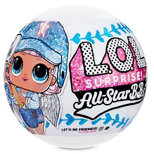 LOL Surprise - Блестящая Кукла ЛОЛ Сюрприз, Звезды Бейсбола All Star B.B.s (Оригинал)