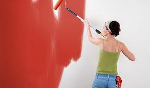 Краски и материалы для внутренней отделки