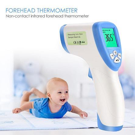 Бесконтактный градусник DT-8809С. Медицинский термометр для детей и взрослых, фото 2