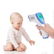 Термометр бесконтактный DT-8809С. Цифровой пирометр медицинский (32 - 42,5°C), фото 2