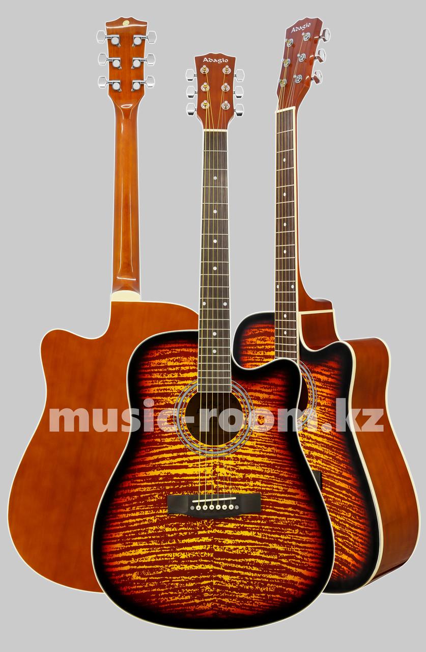 Акустическая гитара Adagio MDF4178 FBS