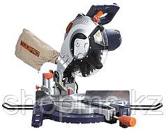 Пила торцовочная MAX-PRO 1800 Вт; 4500об/мин; лазер; 255/25,4мм; резиновый кабель; левый наклон; доп