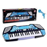 Детский синтезатор B2291 с микрофоном 37 клавиш