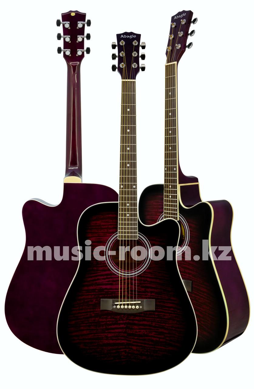 Акустическая гитара Adagio MDF4178C FPB