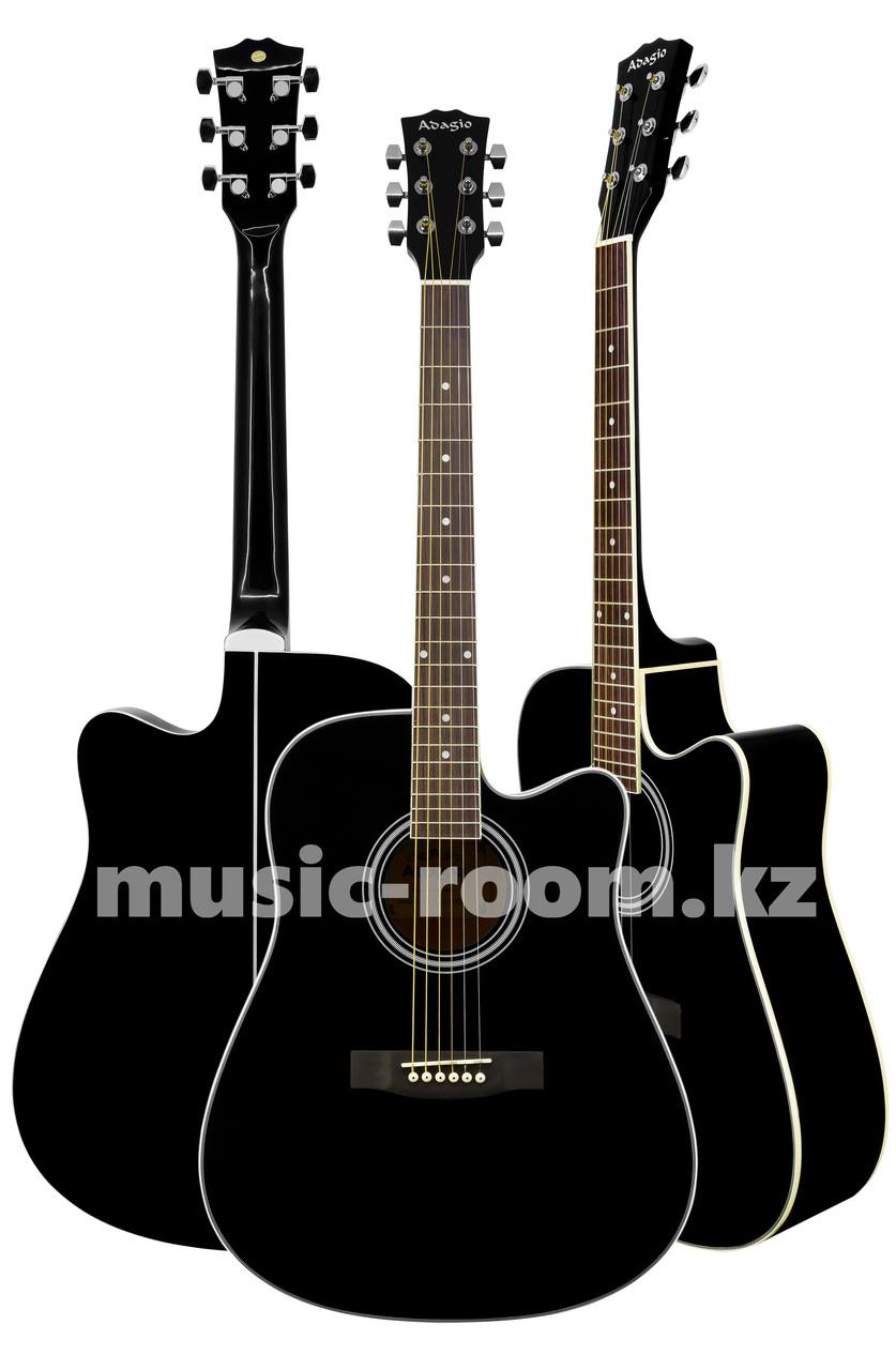 Акустическая гитара  Adagio MDF-4170C BK