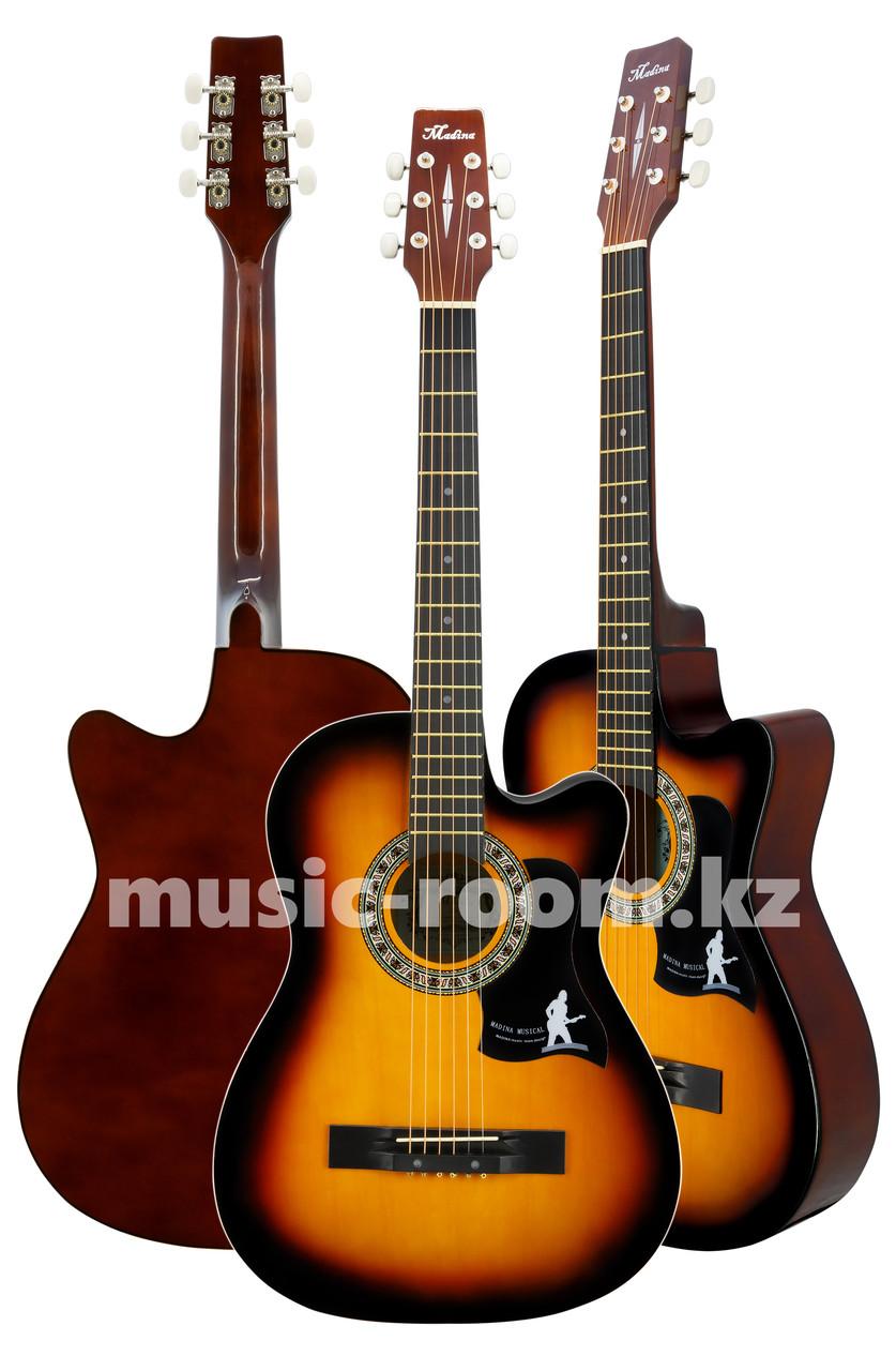Гитара акустическая Madina 38С SB