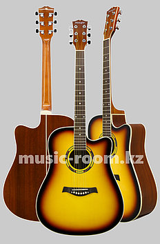 Акустическая гитара Adagio MDF-4182CSB