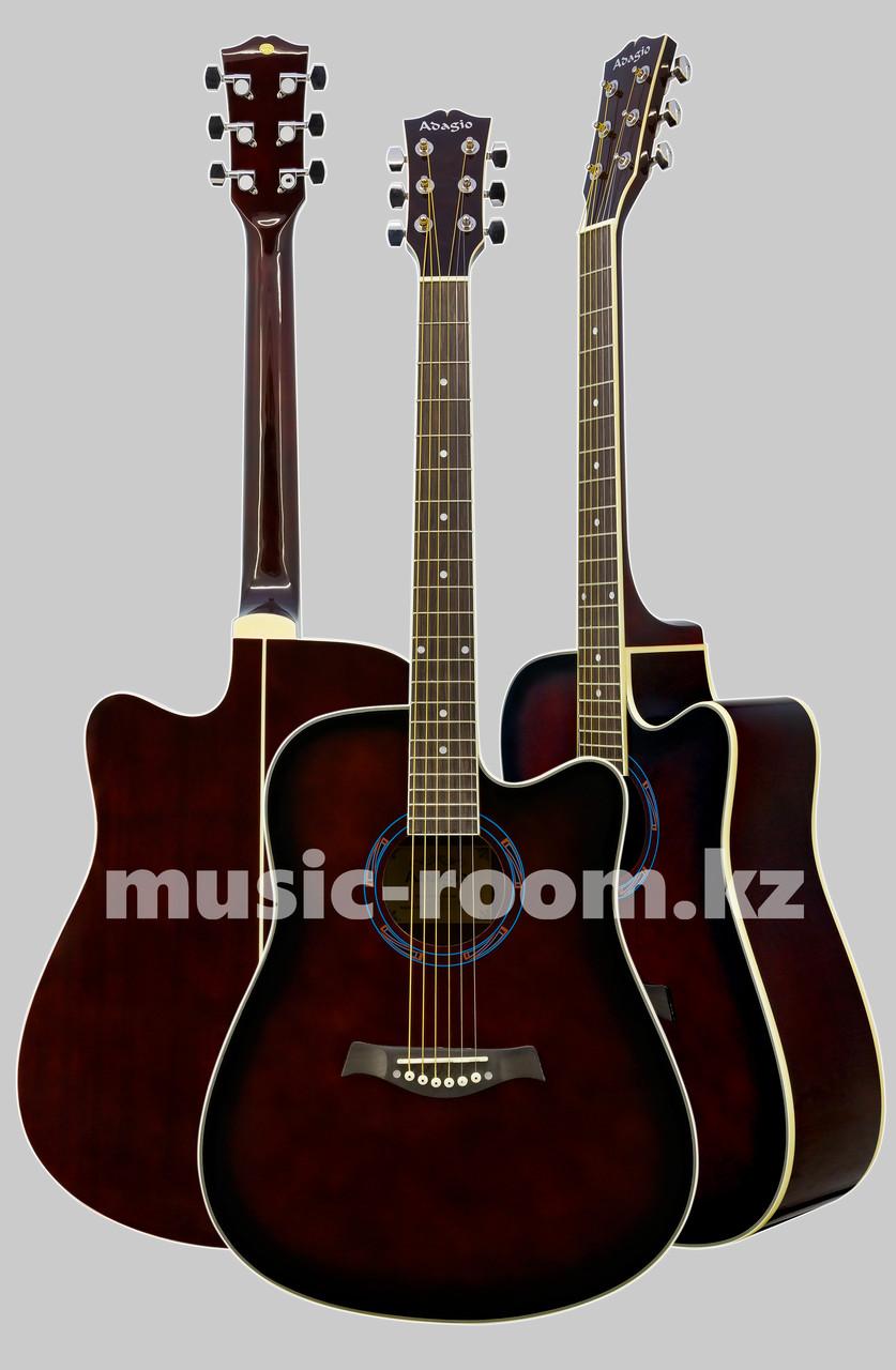 Акустическая гитара Adagio MDF-4182CWRS