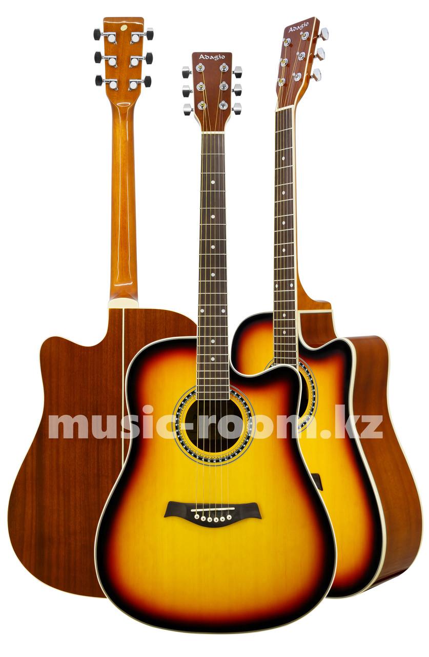 Гитара акустическая Adagio MDF-4122СSB