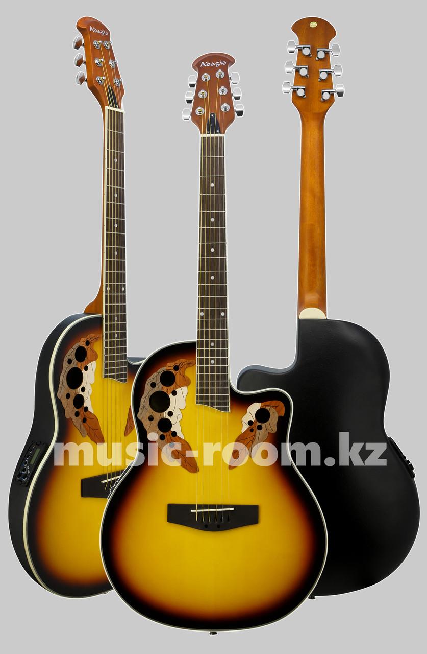 Гитара электроакустическая Adagio MDR-4120 SB