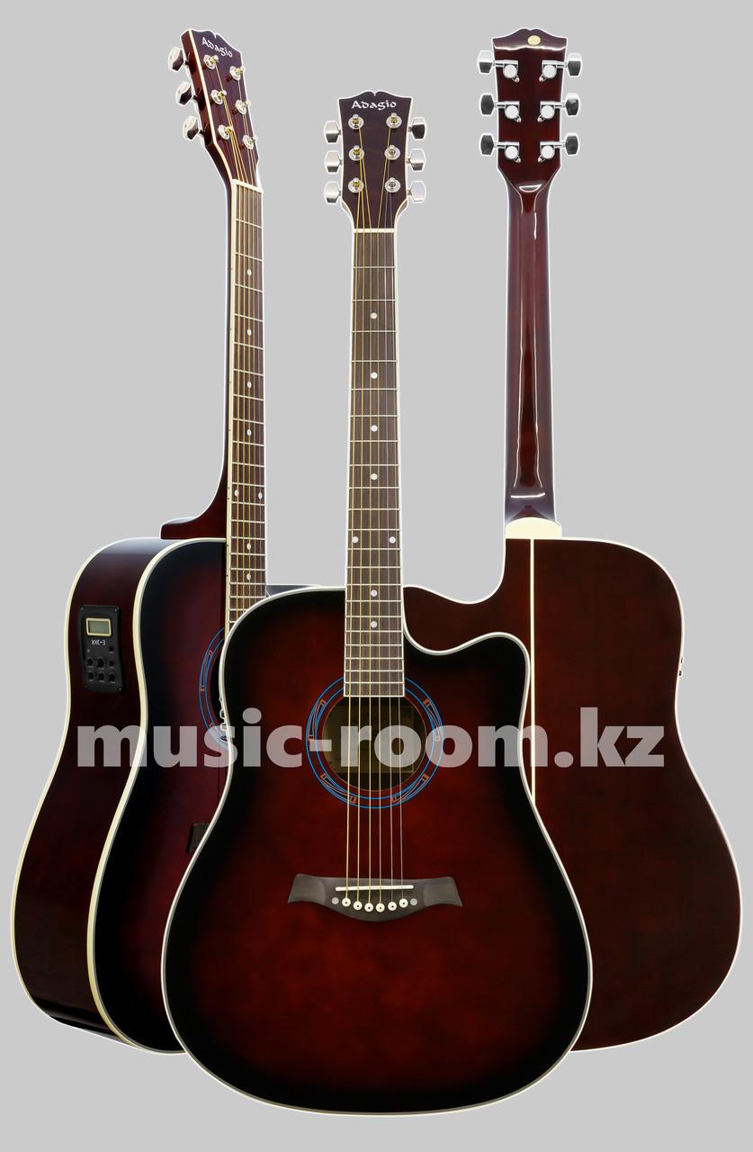 Электроакустическая гитара  Adagio MDF-4182 CEWRS