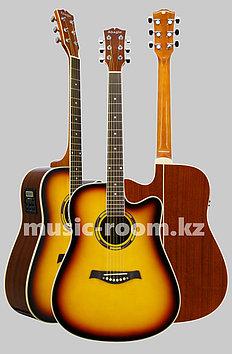 Электроакустическая гитара  Adagio MDF-4182 CESB