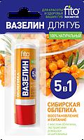ФК 7910 Для губ Вазелин Сибирская облепиха 4,5 гр