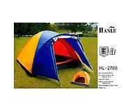 Палатка 4-х местная Hanlu HL-2768, 210*240*150 см., (190Т, 1500 мм., 3 кг.), PRC