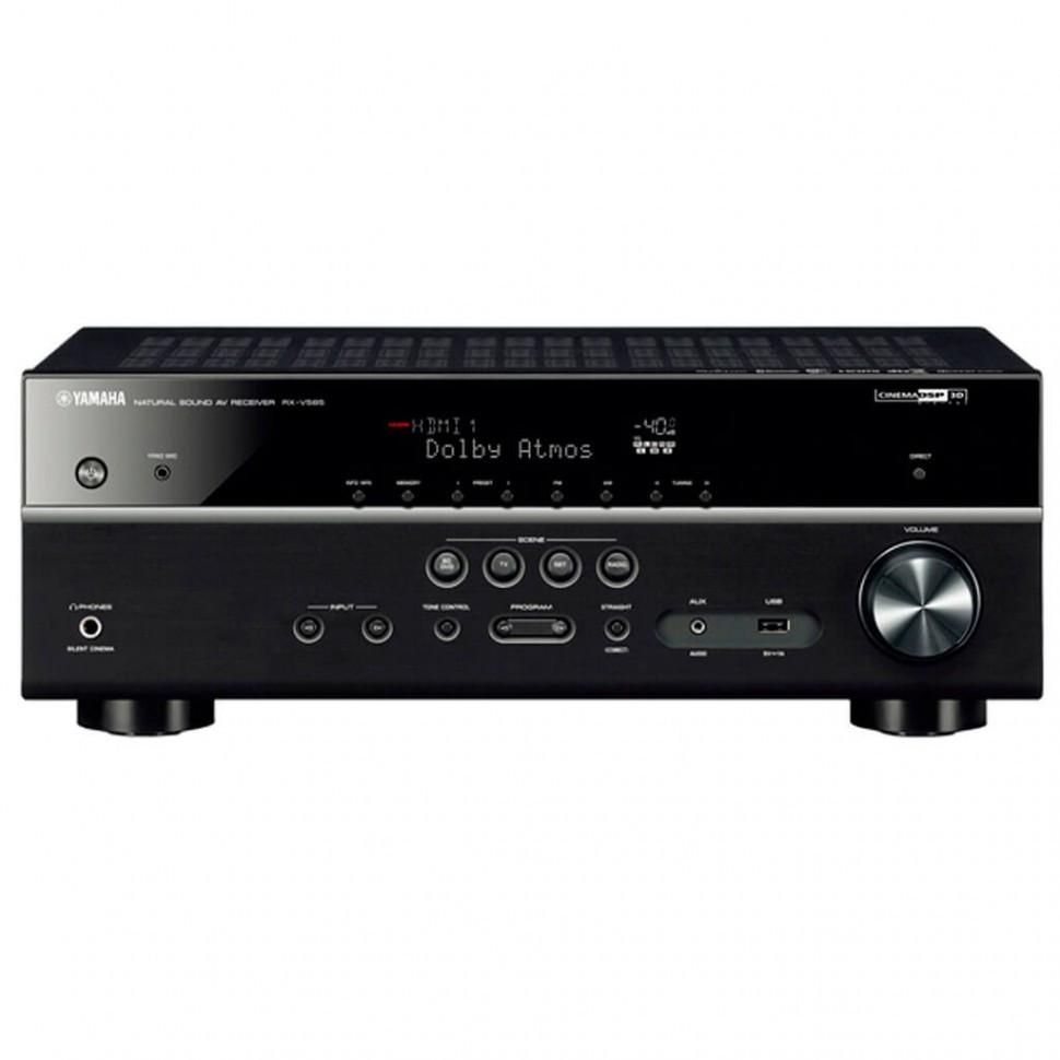 Ресивер AV Yamaha RX-V585 BLACK