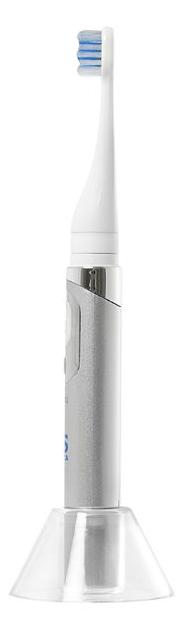 CS Medica: Электрическая звуковая зубная щетка CS Medica CS-131, белый-серебристый - фото 3