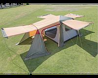 Палатка-шатер Hanlu HL-8885-3, 3х3х2 м с тентом и коридором PRC