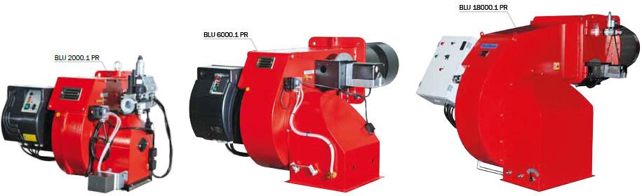 Газовая горелка Ecoflam BLU 15000.1 PR (3690-15000 кВт)