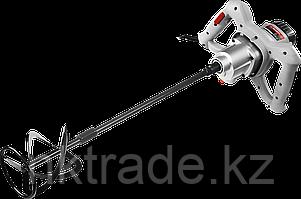 Миксер ЗУБР МР-1050-1 строительный, 2-скоростной,1050Вт, 0-500/0-700 об/мин, М14 патрон