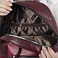 Рюкзак молодёжный, отдел на молнии, 2 наружных кармана, цвет бордовый, фото 6