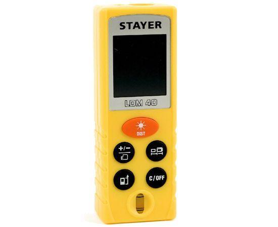 Лазерный дальномер Stayer LDM-40 Professional