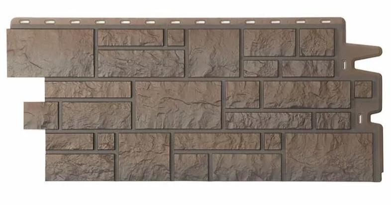 Фасадные панели Дёке Темный 946x445 мм Коллекция BURG