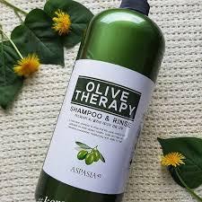 Шампунь-кондиционер 2 в 1 для волос оздоравливающий с оливой Olive therapy Shampoo and Rinse от Aspas 1500 мл.