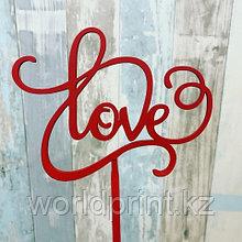 """Топпер """"Love"""""""
