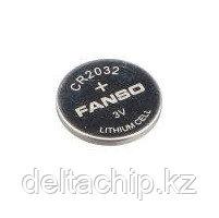 Bat CR2032-VAY3-17.8  с выводами FANSO батарея литиевая