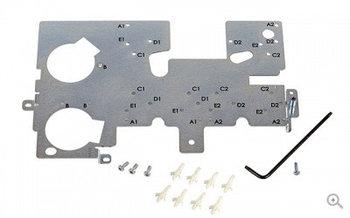 Монтажная пластина для установки кодировщиков Evolis S10112