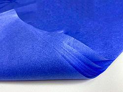 Тишью для оформления подарков. Цвет - Синий.