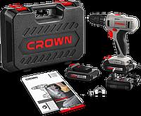 Аккумуляторный дрель-шуруповерт CROWN ст21055L BMC