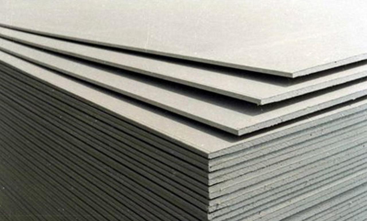 Гипсокартон МАГМА ГКЛ потолочный 9,5мм , толщина 9,5мм,размер 1200*2500 в паллете 66 лист