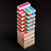 Падающая башня «Территория соблазна» с плёткой и фантами, 54 бруска, фото 5