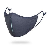 Сет с защитной маской, темно-синий; синий, Длина 13,5 см., ширина 2 см., высота 18 см., P265.875