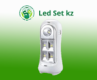 СВЕТИЛЬНИК СД АВ СБА 2215DC 4+1LED 600MAH LITHIUM BATTERY DC IN HOME