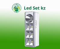 СВЕТИЛЬНИК СД АВ СБА 2207DC 6+1LED 1.0AH LITHIUM BATTERY DC IN HOME