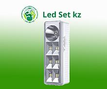 Светодиодный светильник АВ СБА 2207DC 6+1LED 1.0AH LITHIUM BATTERY DC IN HOME