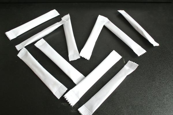 Станок линия для фасовки сахара, кофе, соли в стики