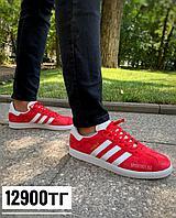 Кеды Adidas Gazelle малин д2, фото 1