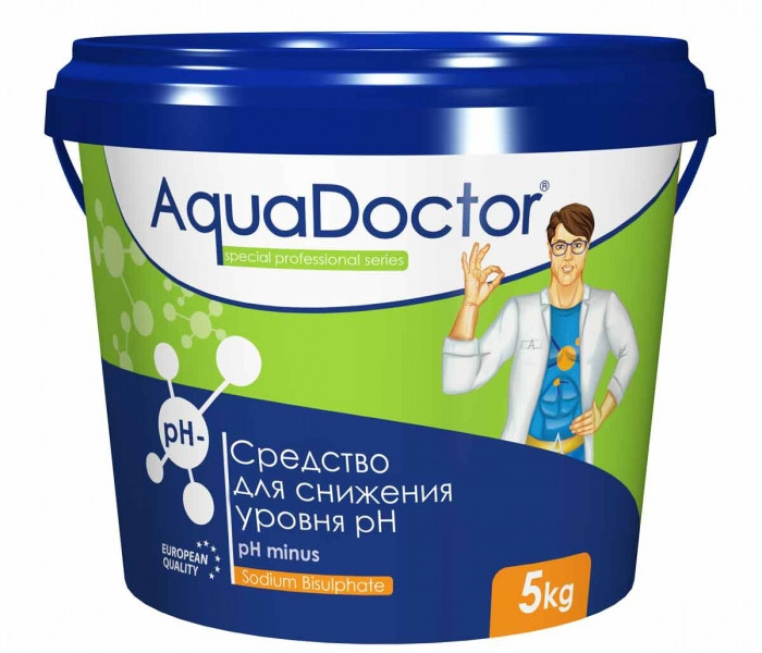 AquaDoctor pH Minus 5 кг (Турция)