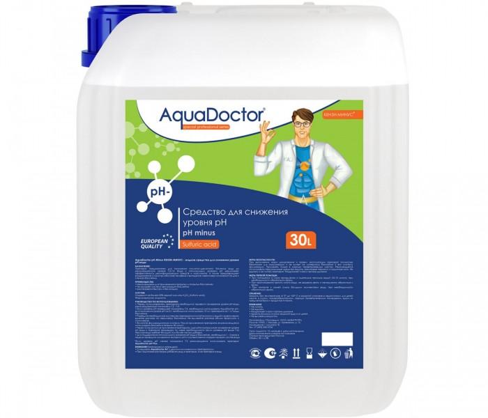 AquaDoctor pH Minus жидкий 20 л. (серная 35%)