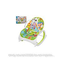 Кресло-качалка   Fitch Baby (вибро.,мелодия,дуга-игрушки), фото 4