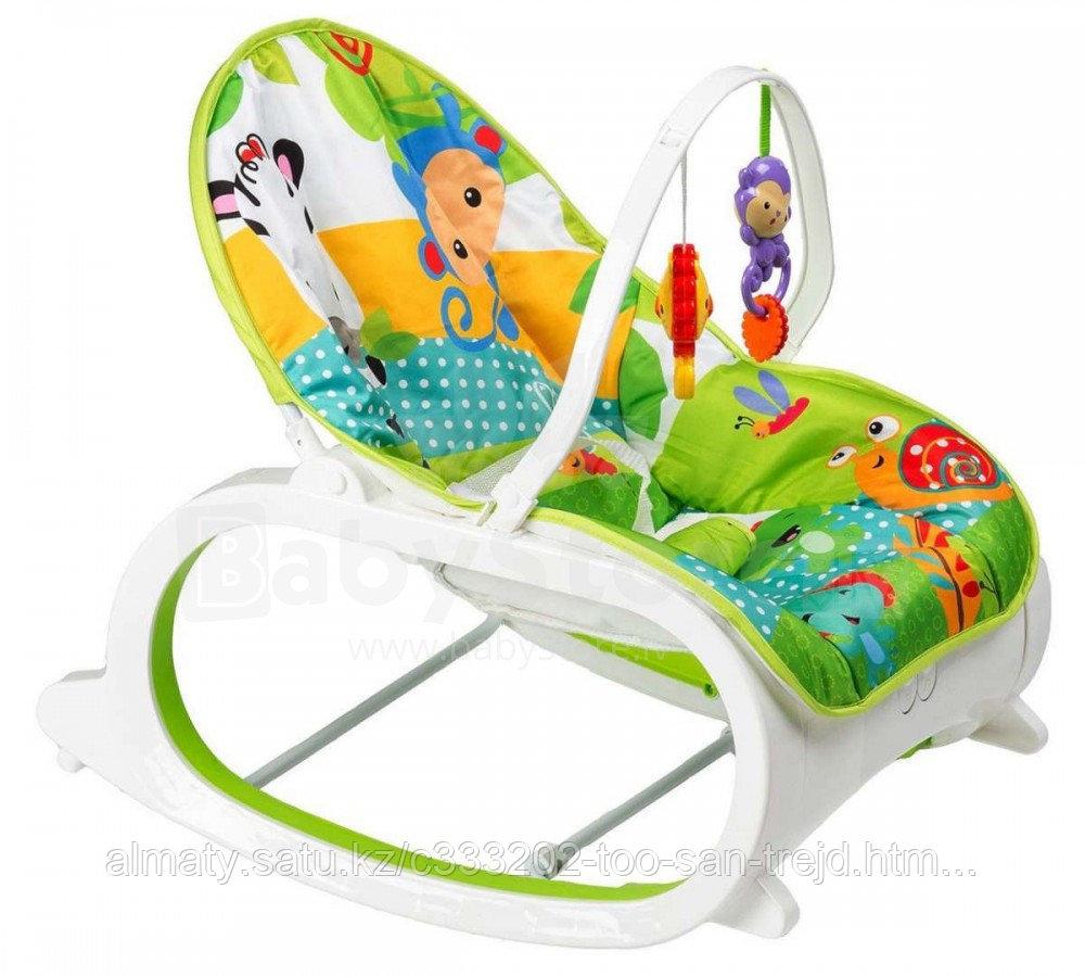 Кресло-качалка   Fitch Baby (вибро.,мелодия,дуга-игрушки)