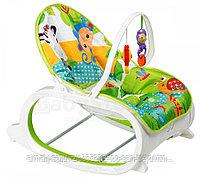 Кресло-качалка   Fitch Baby (вибро.,мелодия,дуга-игрушки), фото 2