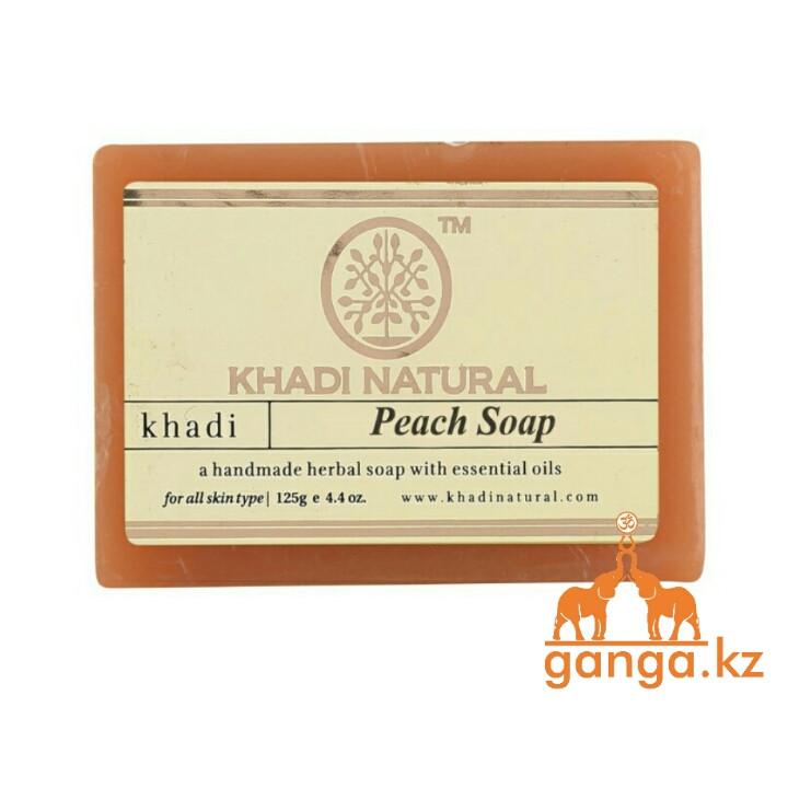 Мыло с Персиком (Peach soap KHADI), 125 гр
